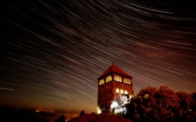 Santok star trails